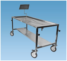 MORGUE - DISSECTING TABLES & ACCESSORIES