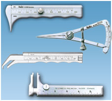 RULERS - MEASURES - CALIPERS