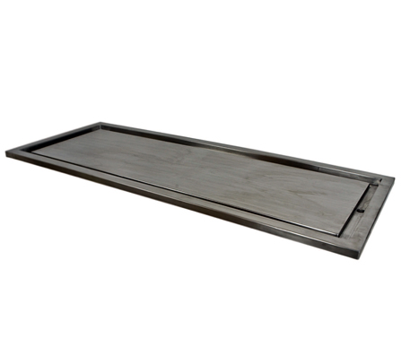 STAINLESS STEEL CART TOP With TROUGH